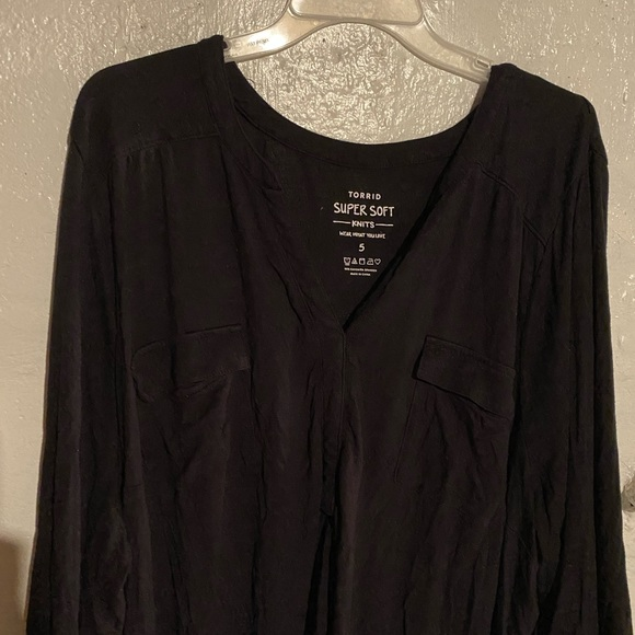 torrid Tops - Women's long sleeve blouse